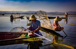 Inlay Lake Fishermen