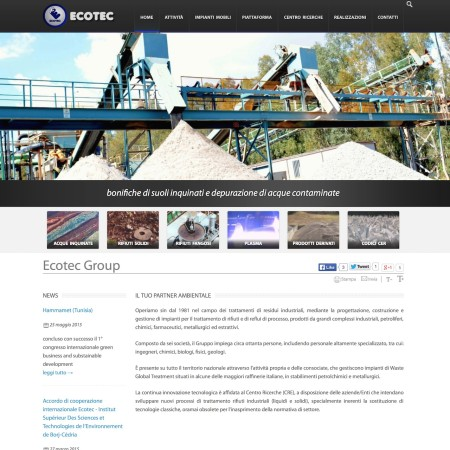 Ecotec Group - Website - by Lycnos