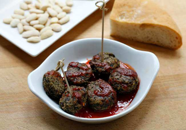 Freezer Friendly Eggplant Meatballs {#TheRecipeReDux}
