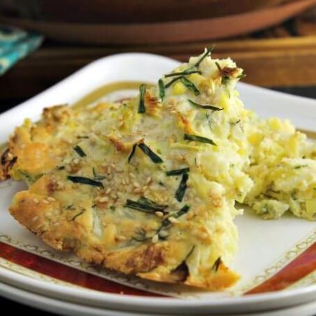 Cabbage Pie ~ #FoodOfTheWorld Russia ~ Lydia's Flexitarian Kitchen
