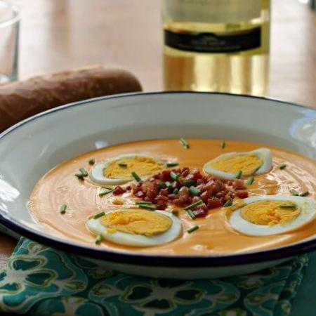 Salmorejo: Gazpacho's Cousin ~ Lydia's Flexitarian Kitchen