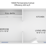 floorplan - PA Ave efficiency