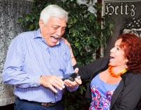 Kaegle laughs with Casella, author of The Don's Wife, about the wine industry.