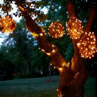 DIY Grapevine Lighting Balls...What a BRIGHT idea !!