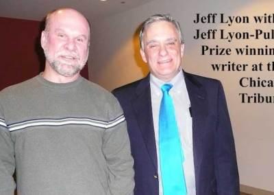 Jef Lyon and Jeff Lyon