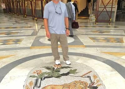 Zodiac Mosaic in Galleria Naples