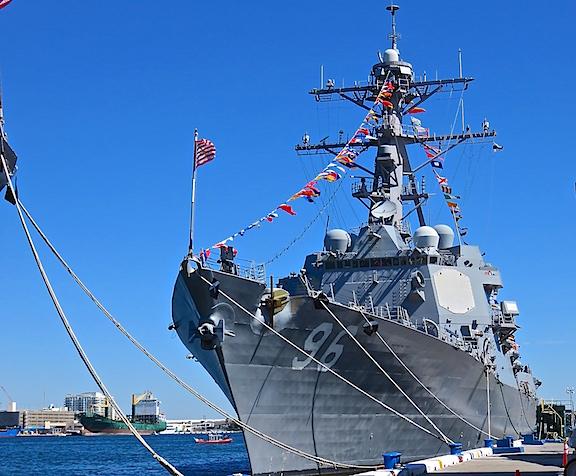 USS BAINBRIDGE DDG 96