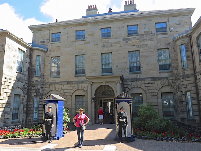 The Government House has been home to royal residents since 1805 and is currently Nova Scotia's Lieutenant Governor's residence. He serves as Honorary Grand Master of the Order of the Good Time. As a visitor I was entitled to membership in the Order of Good Time by agreeing to have a good time, remember them fondly, speak of them kindly and come back again. Roger that!