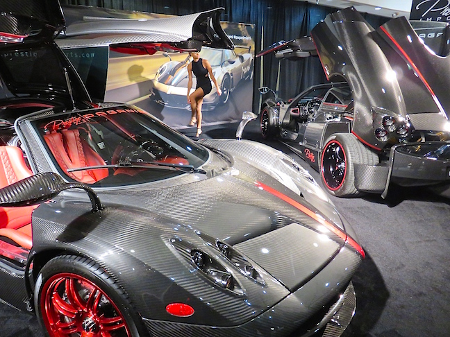 There were cars that I'll never be able to own and never even heard of, like the Pagani.