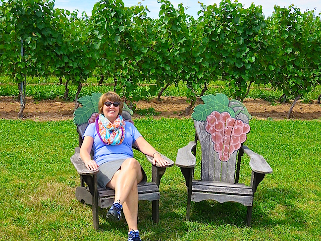 Atlantic Canada's oldest winery is Domaine de Gran Pre′. Their grapes were developed specifically for Nova Scotia's climate and landscape. No Old World berries here.