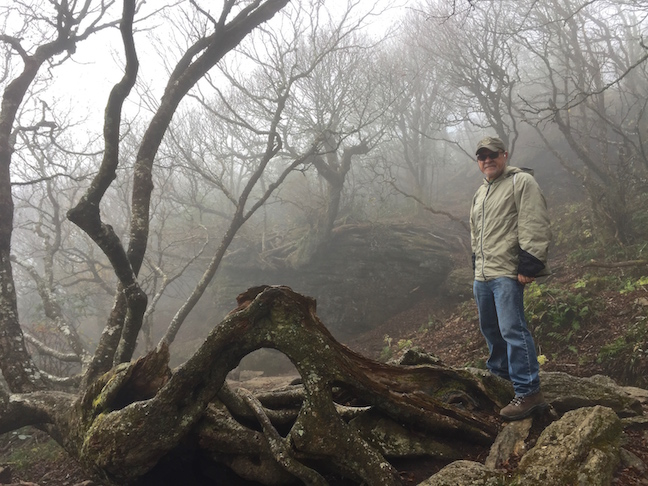 FOGGY MOUNTAINS' CRAGGY PINNACLE
