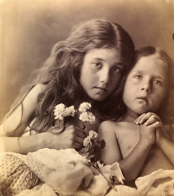 Julia Margaret Cameron, The Red & White Roses, 1865