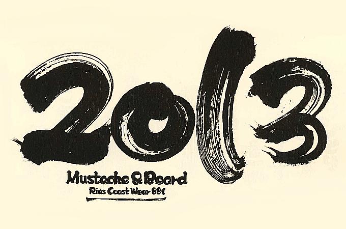 M&B(マスタッシュ アンド ビアド)カレンダー2013
