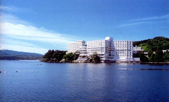 南三陸ホテル観洋全景