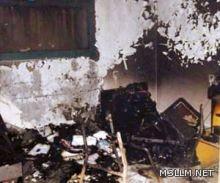 رغم الإجازة.. حريق بمدرسة في العقيق