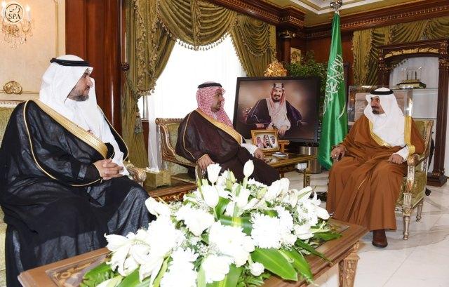 سمو أمير منطقة نجران يستقبل مدير عام الأمن والسلامة بوزارة التعليم
