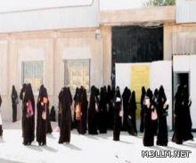 إخلاء طالبات المتوسطة (44) بمكة أثر التماس كهربائي