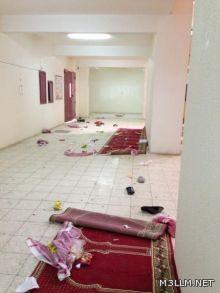 عاجل : مضاربة جماعية بين طلاب ثانوية الإمام محمد بن سعود بتثليث