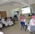 مكتب أبوعريش ينظم برنامجا للتعامل مع نظام التكامل الالكتروني