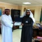الغفيلي يكرم فريق تحرير رسالة اللغة العربية وصدور العدد الثالث من الرسالة