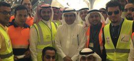 وزير النقل يتفقد سير الأعمال بمشروع قطار الحرمين السريع