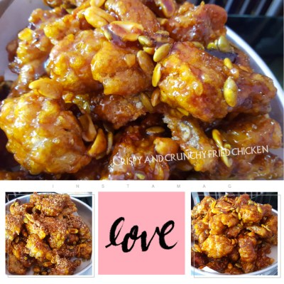 Crispy crunchy Korean fried chicken (Dakgangjeong) recipe - Maangchi.com