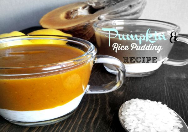 Rice and Pumpkin Pudding