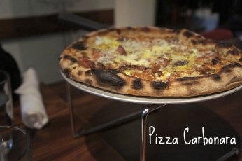 Aera 4 Cambridge, Pizza Carbonara