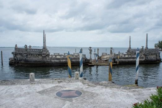 Villa Vizcaya - Coconut Grove - Miami -Floride - face à la baie