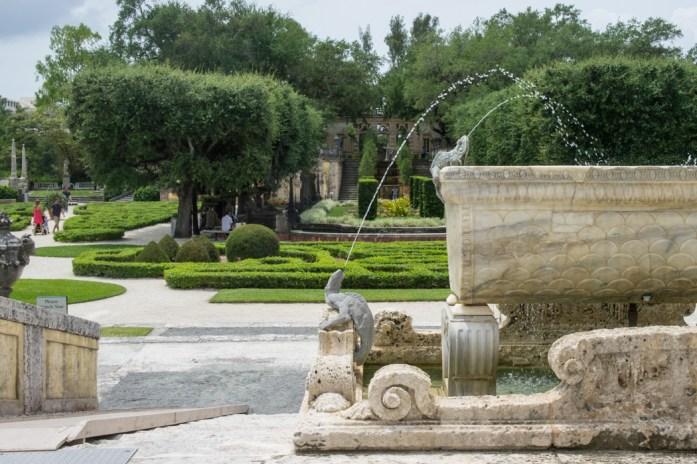 Villa Vizcaya - Coconut Grove - Miami -Floride - jardins 6