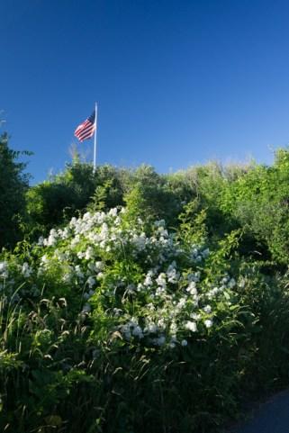 Drapeau américain - Little Compton, Rhode Island