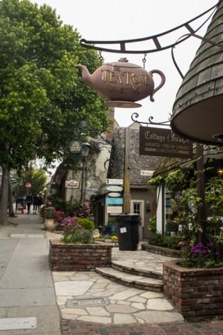 Jolies boutiques à Carmel - Californie