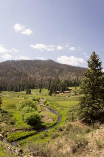 VAlles Caldera Route 4 Nouveau Mexique