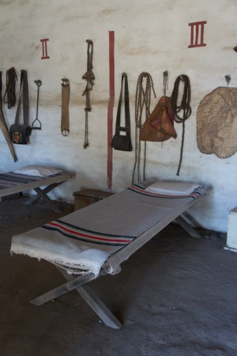Petite chambre Purisima Mission Californie