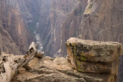 Black Canyon of the Gunnison - National Park - Colorado - road trip Etats-Unis - au bord du précipice