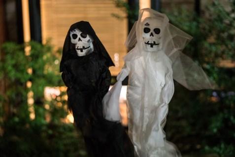 Halloween fantômes Back Bay Boston