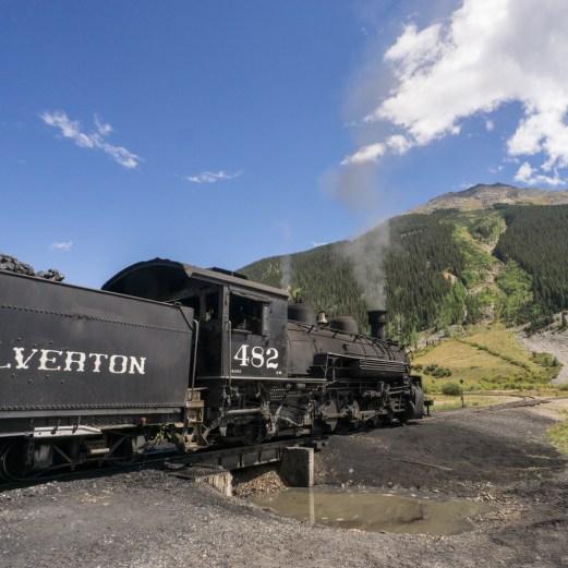Colorado road trip - le train de Silverton