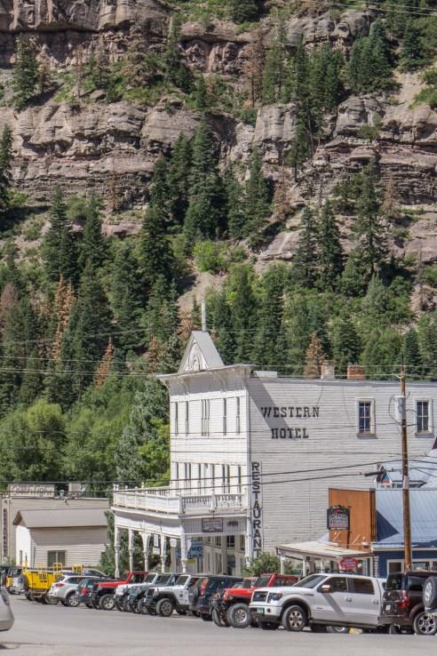 Colorado road trip - Ouray, la suisse de l'Amérique - western hotel