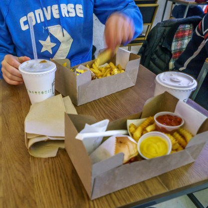 Washington DC Burgers Shake Shack