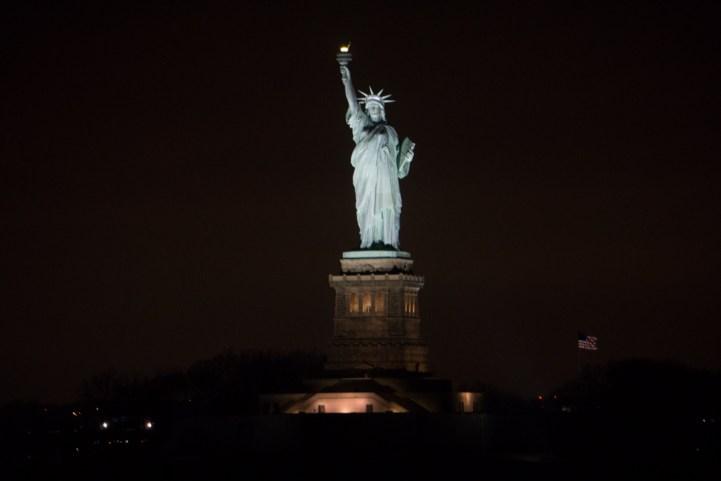 Statue Liberté New York ferry Staten Island