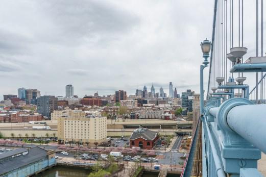 Philadelphie Franklin Bridge 3