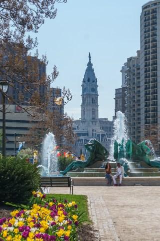 Philadelphie Franklin parkway