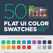 Creativemarket 50 Flat UI color swatches 65170 icon
