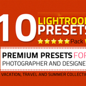 Creativemarket 10 Lightroom Presets Pack 219795 icon