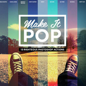 Creativemarket Make it pop photoshop actions 189351 icon
