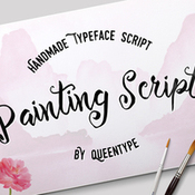 Creativemarket Painting Script Plus Bonus 238313 icon