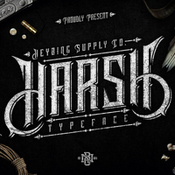 Creativemarket Harsh Typeface Plus Bonus Intro Sale 280584 icon