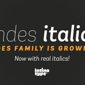 Latinotype Trend Font Family icon