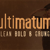 Creativemarket ultimatum font 344088 icon