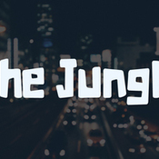The jungle typeface 418509 icon